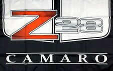 Chevrolet Camaro Z28 3x5 ft Flag Banner Garage Man-Cave Chevy Racing Car Club