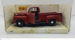 Maisto 1948 Ford F-1 Pickup Truck Red #31935 1:25 Die-Cast Used Never Displayed