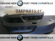 NEW GENUINE BMW 5SERIES E39 7SERIES E38 BLACK SEAT SWITCH COVER SET 52107058008