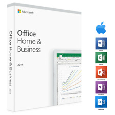 Microsoft Office 2019 Home & Business Mac - Lifetime Account - Same Day Delivery