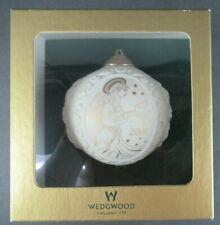 Wedgwood 2000 Porcelain Christmas Tree Ornament Ball In Original Box. Nr. Mint