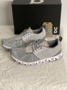 ON RUNNING Cloud Terry 18.99842 Silver 2021 Brand New Complete
