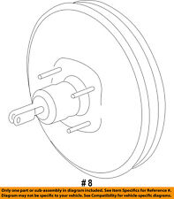 FORD OEM 11-14 Edge-Power Brake Vacuum Booster BT4Z2005A