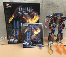 Transformers alloy SS05 zooms in on robot optimus prime commander robot toy