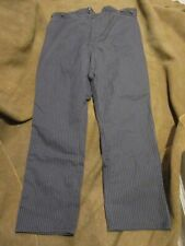 TOMBSTONE OUTFITTERS STRIPED PANTS TROUSERS 40 X 30 WILD WEST FRONTIER
