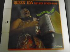 QUEEN IDA AND HER ZYDECO BAND- ON A SATURDAY NIGHT   VINYL ALBUM LN  GNPS-2172