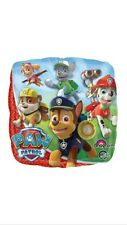 PAW PATROL FOIL LARGE BALLOON BRIGHT CHASE RUBBLE BOYS BIRTHDAY PARTY DECORATION