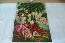 Francés Vintage Renacimiento escena Tapestry Tapicería Cojines # 2