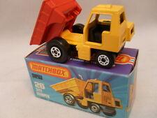 1978 MATCHBOX LESNEY SUPERFAST #26 SITE DUMPER WITH RED DUMP MIB