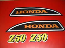 1973 Honda Z50 K4 Mini Trail Tank And Side Panel Decals