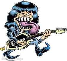 Ramone Rocker Sticker Decal Dirty Donny DD57