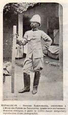 TANANARIVE EDOUARD RAKOTOMANGA INSTITUTEUR TEATCHER MADAGASCAR IMAGE 1902 PRINT
