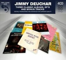 JIMMY DEUCHAR - 3 CLASSIC ALBUMS PLUS BONUS TRACKS NEW CD