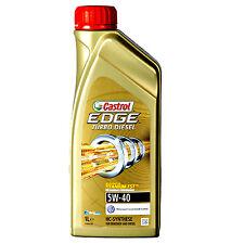 CASTROL EDGE TITANIUM FST TURBO DIESEL 5W-40 FULLY SYNTHETIC OIL 1 LITRE 1L
