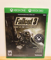 Fallout 3 Game of the Year Edition - Xbox One/Xbox 360 - Almost Brand New
