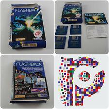 Flashback un Delphine Software juego para Commodore Amiga probado y de trabajo