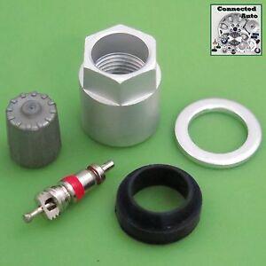Fits Lexus TIRE PRESSURE SENSOR TPMS REBUILD SERVICE KIT nut valve cap LX-1110