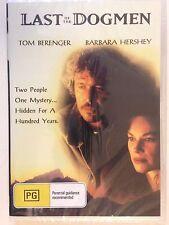 The Last of the Dogmen (DVD, 2015) Tom Berenger, Barbara Hershey OOP