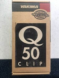 Yakima Q50 clips for Q towers - Pair - New in box - Ford Mustang Coupe 94-04