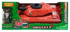 G.I. Joe vs. Cobra - C.A.T. II (Crimson Attack Tank) W CRIMSON GUARD NEW SEALED