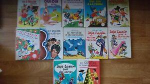 Lot 12 livres Enid Blyton Biblio rose dont Oui-Oui