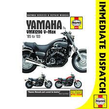 [4072] Yamaha VMX1200 V-MAX 1985-2003 Haynes Workshop Manual