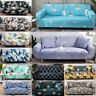 1/2/3/4 Stretch Fit Sofa Covers Tight Couch Cover Slipcover Furniture Protector