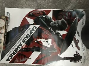 Captain America: The Winter Soldier Movie Poster approx 30 x 60
