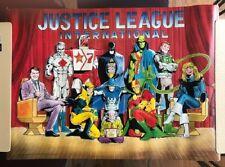 "Justice League International 1987 Dc Comics Poster 21"" x 30"""