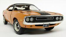Ertl 1/18 Scale - 2 Fast 2 Furious 1970 Dodge Challenger Orange Diecast Car