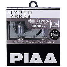 PIAA Hyper Arros HB4 Car Replacement Headlights Bulbs +120% (Twin Pack) HE910