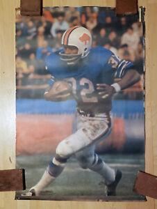 Vintage 1973 BUFFALO BILLS / O.J. SIMPSON Sports Illustrated 24x36 HOF