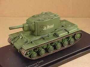 """HobbyMaster #HG3015 1/72 KV-2 Heavy Assault Tank """" para El Motherland """", Rojo"""
