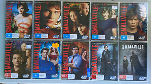 Smallville The Complete DVD Series | Season 1,2,3,4,5,6,7,8,9,10 - New & Sealed