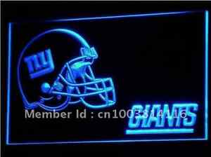 New NFL Football New York Giants LED Neon Signs Light Bar Man Cave 7 colors