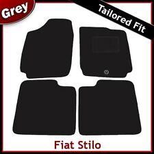 FIAT STILO (2002 2003 2004 2005 2006 2007) montata su misura moquette tappetini Grigio