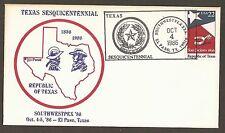 #2204 22c  Southwestpex '86 - El Paso, TX 10/4/86
