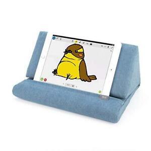 IPEVO PadPillow Stand for iPad Air & iPad 4/3/2/1Nexus/Galaxy - Blue Denim