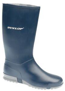 Dunlop Wellies Blue Sport Wellington Boots Size EU 31 -42