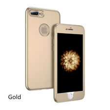 Luxury 360° Full body Silicone TPU Shockproof Phone Case For iPhone8 6S 7 Plus