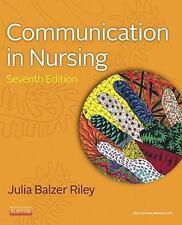 Communication in Nursing, 7e (Communication in Nursing (Balzer-Riley)) by Balzer
