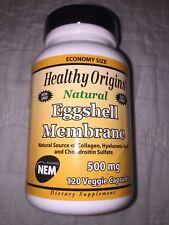 Healthy Origins Eggshell Membrane 500 mg 120 Veggie Capsules Expire: 06/2021