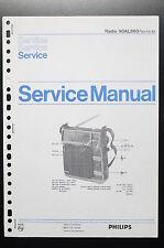 PHILIPS RADIO 90AL860 Original Service-Manual/Anleitung/Schaltplan! o34
