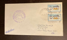 1/25/85 Ross Dependency Scott Base Antarctica Cover Signed S Valentine 109-8