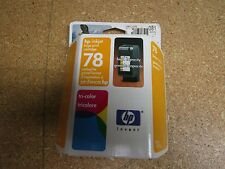 Genuine C6578AN HP 78 Tri-Color Ink Cartridges New In Sealed Box OCT2003-MAY2005