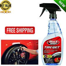23 Oz Black Magic BM23 Long-Lasting Tire Wet Shine Cleaner Spray For Car Vehicle