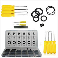 225pcs O-ring Assortment W/ 4pcs O Ring Seal Gasket Pick Hooks Puller Remover