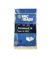 Kenmore 5041/45 20-5045 Type H Vacuum Cleaner Bags - Sears Canister Style Vac