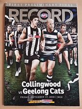 AFL Record - 2010 First Prelimenary Final - Collingwood vs Geelong