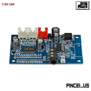 7.5V-16V MP3 WMA APE FLAC WAV Wireless Bluetooth Audio Receiver Board w/ Amp